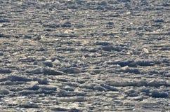 Замороженная вода - текстура океана льда природы Стоковое фото RF