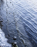 Замороженная вода Стоковая Фотография RF