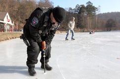 Замороженная европа Стоковые Изображения RF
