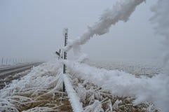 Замороженная загородка Стоковое фото RF