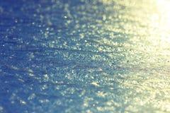 Замороженная поверхность льда Стоковые Изображения