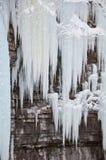 Замороженная скала Стоковое Фото