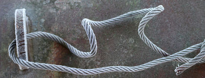 Замороженная сталь Стоковая Фотография