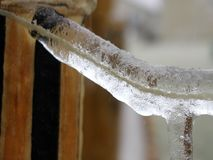 Замороженная строка Стоковое Изображение RF