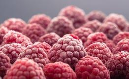 Замороженная ягода на черной предпосылке Стоковое Изображение