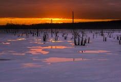 замороженное время Стоковая Фотография