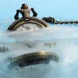 замороженное время Стоковые Фото