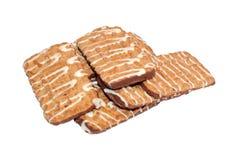 замороженное домодельное печенья Стоковое фото RF