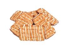 замороженное домодельное печенья стоковая фотография rf