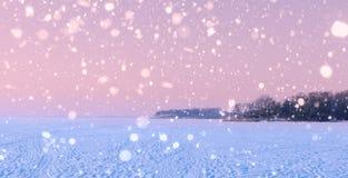 Замороженное море зимы Стоковые Изображения RF