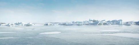 замороженное море стоковая фотография