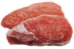 Замороженное мясо Стоковая Фотография