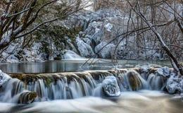 замороженное озеро Стоковое фото RF