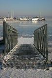 Замороженное озеро Стоковое Изображение