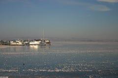 Замороженное озеро Стоковые Фотографии RF
