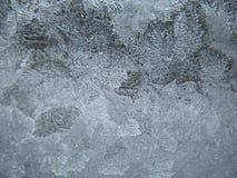 Замороженное окно зимы Стоковое фото RF