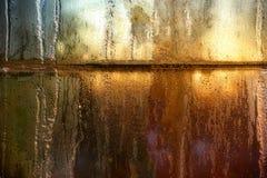 замороженное окно форточек Стоковое фото RF