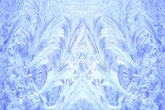 замороженное окно Стоковая Фотография RF