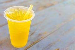 Замороженное питье хризантемы Стоковые Фото