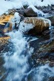 Замороженное река горы Стоковые Фотографии RF