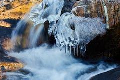 Замороженное река горы Стоковое фото RF