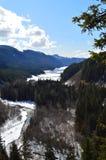 Замороженное река стоковое изображение