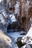 замороженное река Стоковое фото RF