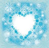 замороженное сердце Стоковое Изображение RF