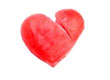 Замороженное сердце Стоковая Фотография RF