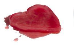 Замороженное сердце Стоковые Изображения