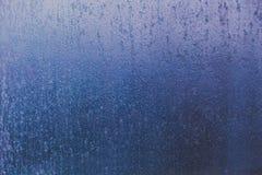 Замороженное стекло окна с предпосылкой текстуры льда Стоковые Изображения