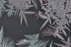 Замороженное стекло с льдом Стоковая Фотография