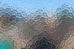 Замороженное стекло уединения ванной комнаты Стоковое фото RF