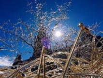 Замороженное contry Стоковая Фотография