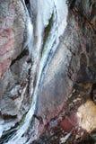 Замороженное waterfall-3 Стоковые Фотографии RF
