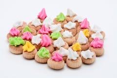 замороженность печенья цветастая Стоковое Фото