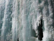замороженные водопады Водопады Chegem Россия Стоковая Фотография