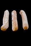 замороженные горячие сосиски Стоковые Фотографии RF