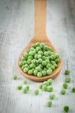 Замороженные зеленые горохи Стоковое Изображение RF