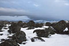замороженные камни Стоковые Изображения RF