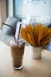 Замороженные напитки шоколада Стоковое Фото