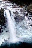 Замороженные падения Snoqualmie Стоковое Фото