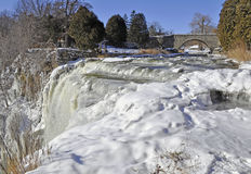 Замороженные падения Webster Стоковое Фото