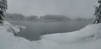 Замороженные положения воды стоковые изображения