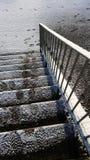 замороженные шаги Стоковое Изображение RF
