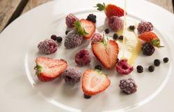 Замороженные ягоды лета Стоковое Фото
