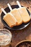 Замороженные lollies кофе Стоковая Фотография RF
