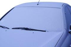 замороженный автомобиль Стоковые Фото