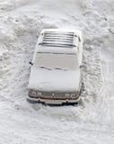 Замороженный автомобиль Стоковые Изображения