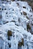 замороженный водопад Стоковые Фото
